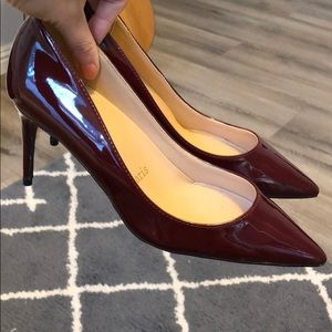 CL RED SOLE high heel